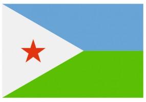 Sticker drapeau Djibouti