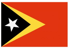 Sticker drapeau Timor-Leste