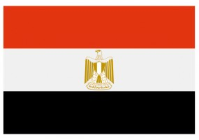 Sticker drapeau Egypte