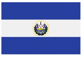 Sticker drapeau El Salvador