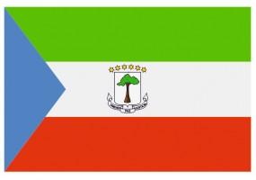 Sticker drapeau Guinée Equatoriale