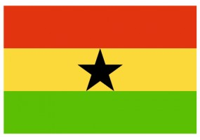 Sticker drapeau Ghana