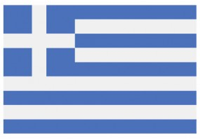 Sticker drapeau Grece