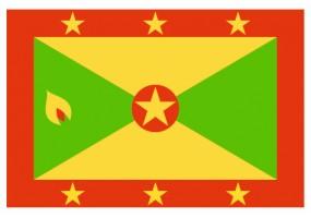 Sticker drapeau Grenade