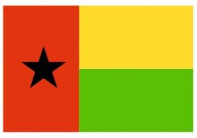 Sticker drapeau Guinée-Bissau