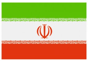 Sticker drapeau Iran