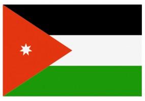 Sticker drapeau Jordanie