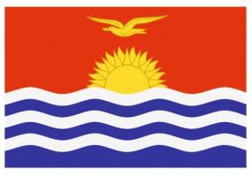 Sticker drapeau Kiribati