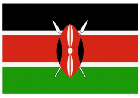Sticker drapeau Kenya