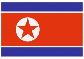 Sticker drapeau Corée-du-Nord