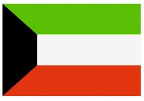 Sticker drapeau Koweit