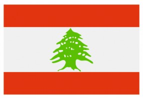 Sticker drapeau Liban