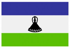 Sticker drapeau Lesotho