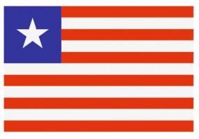 Sticker drapeau Liberia
