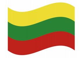 sticker drapeau Flottant Myanmar
