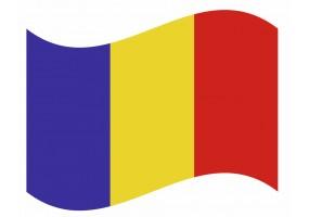 sticker drapeau Flottant Tchad