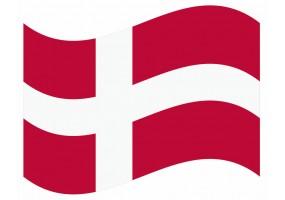 sticker drapeau Flottant Danmark
