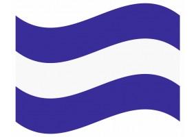 sticker drapeau Flottant El-Salvador