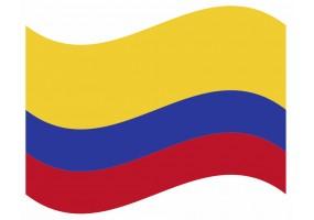 sticker drapeau FlottantEquateur