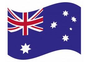sticker drapeau Flottant Australie