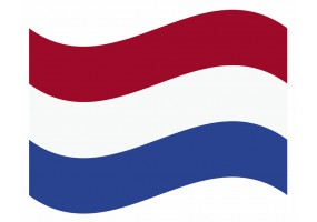 sticker drapeau Flottant Pays- Bas