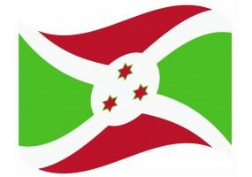 sticker drapeau Flottant Burundi