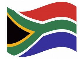 sticker drapeau Flottant Afrique du Sud