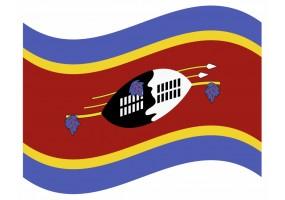 sticker drapeau Flottant Eswati