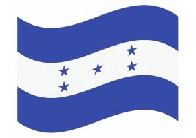 sticker drapeau Flottant Honduras