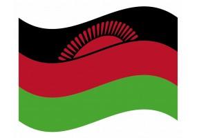 sticker drapeau Flottant Malawi