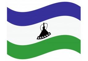 sticker drapeau Flottant Lesotho