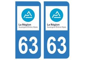 Département 63 Puy-de-Dôme