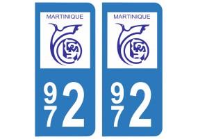 Département 972 Martinique