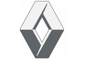 Sticker Renault gris