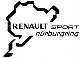 Sticker Renault sport nurburgring