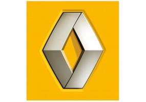 Sticker Renault jaune