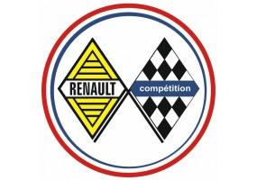 Sticker Renault vintage