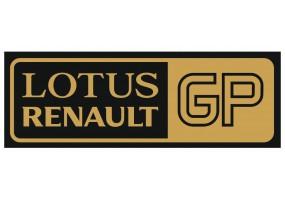 Sticker Renault Lotus