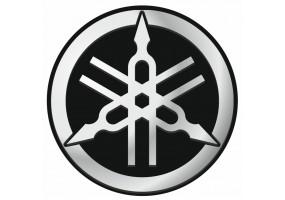 Sticker Yamaha gris