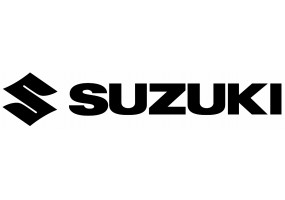 Sticker Suzuki noir