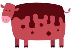 Sticker Vache