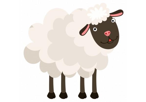 Sticker Mouton