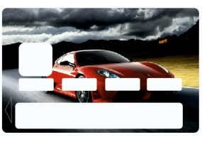 Sticker CB Compteur voiture