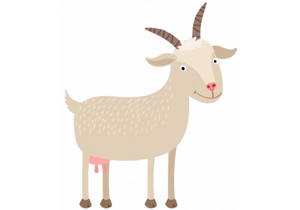 Sticker Chèvre