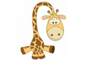 Sticker Girafe