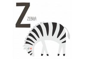 Sticker Zèbre