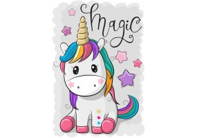 Sticker Licorne