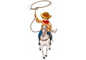 Sticker Cowboy