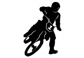 Sticker Moto gross