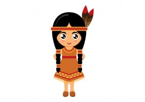 Sticker Indien